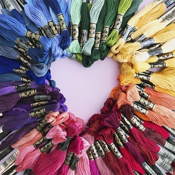 fábrica textil de ropa colores