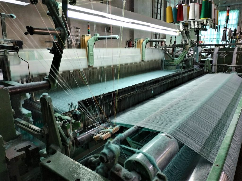 proveedores de telas maquinaria